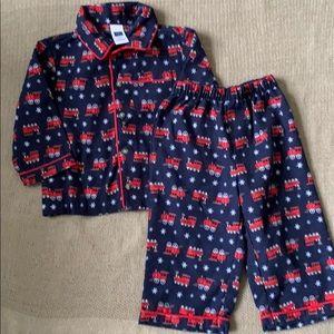 JANIE & JACK | Christmas Train Pajamas